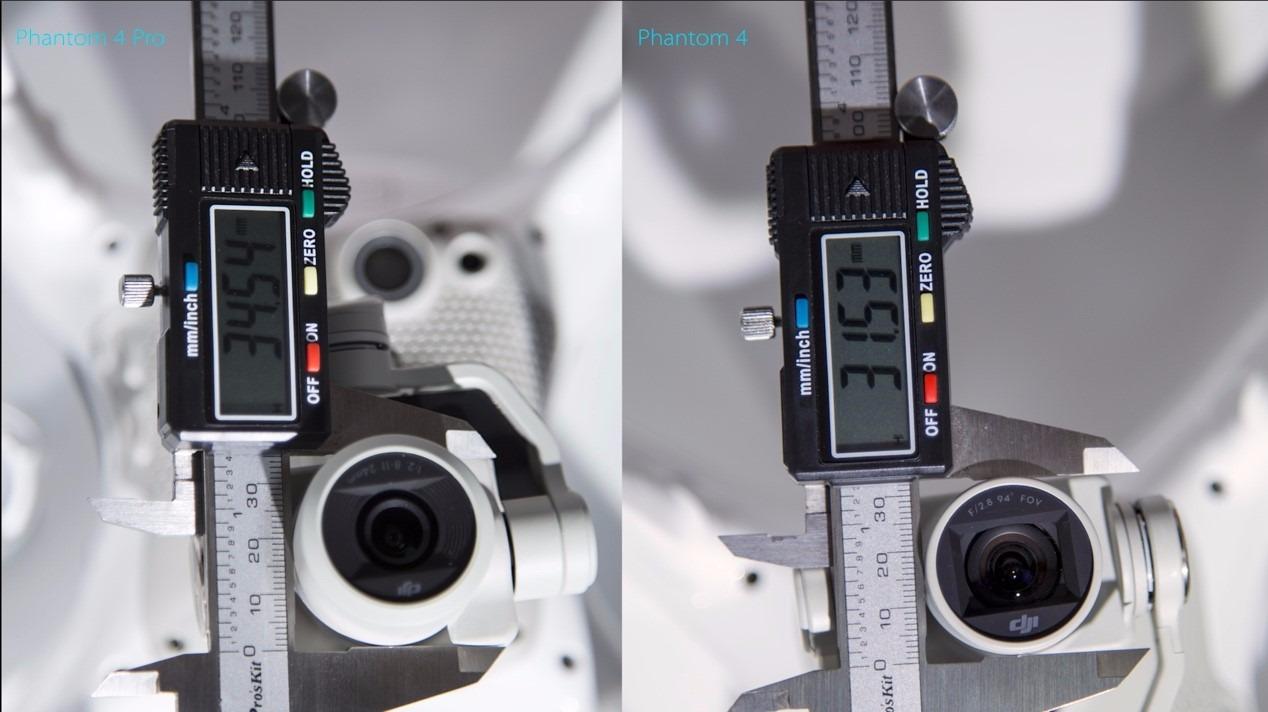 Phantom 4 Pro的相机到底升级了多少?